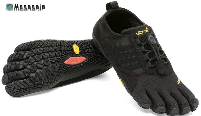 FiveFingers Trek Ascent Sort Til Damer